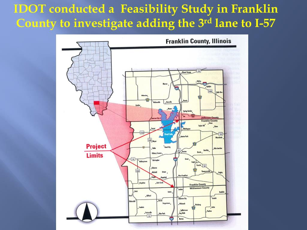 IDOT conducted a  Feasibility Study in Franklin County to investigate adding the 3