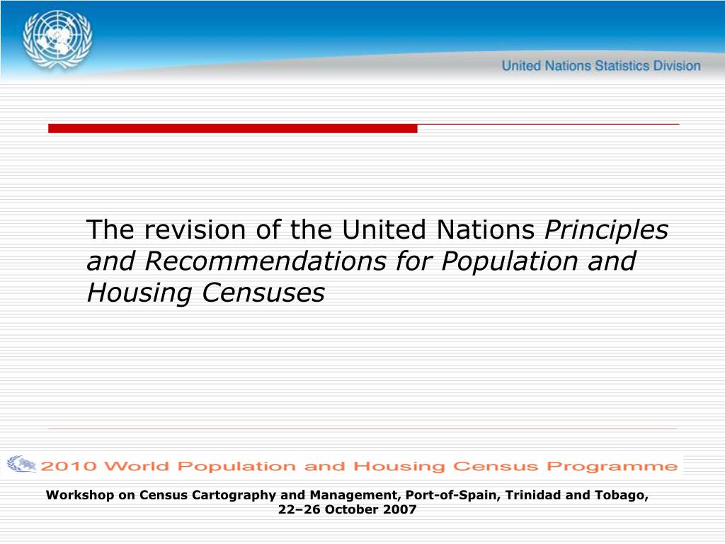 The revision of the United Nations