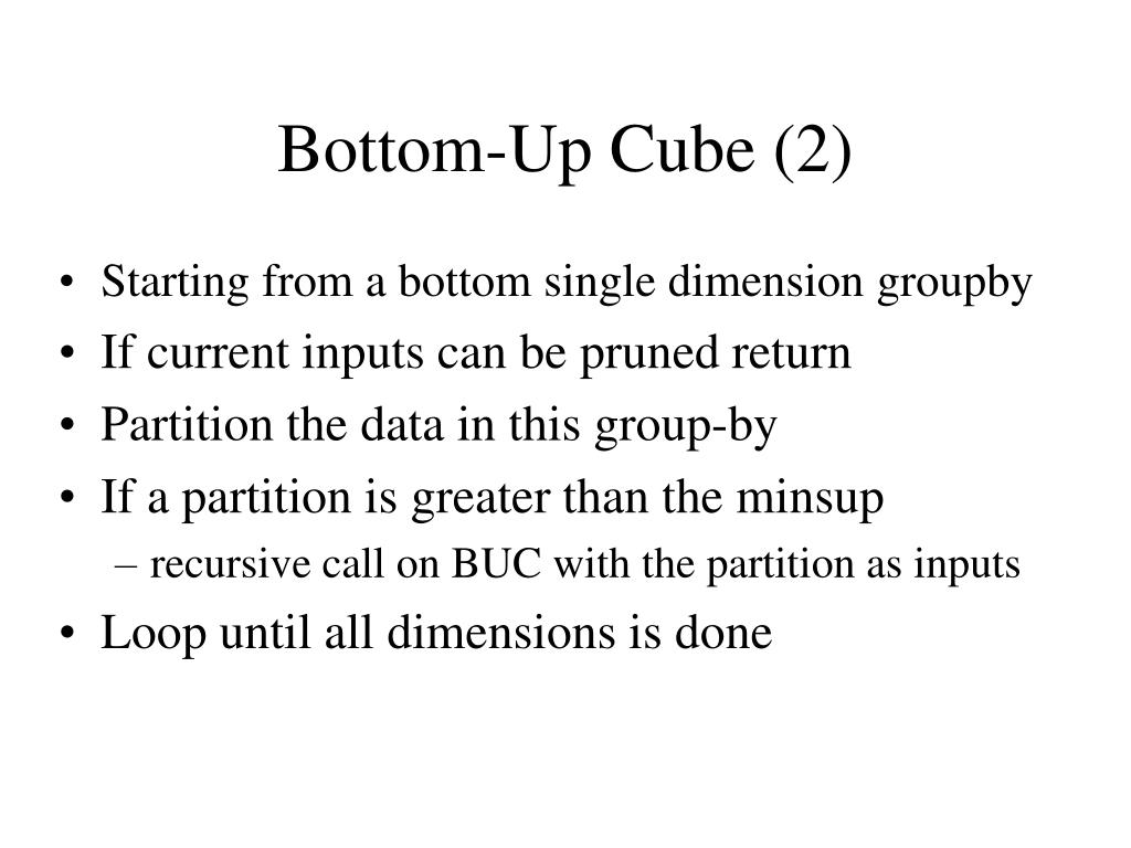 Bottom-Up Cube (2)