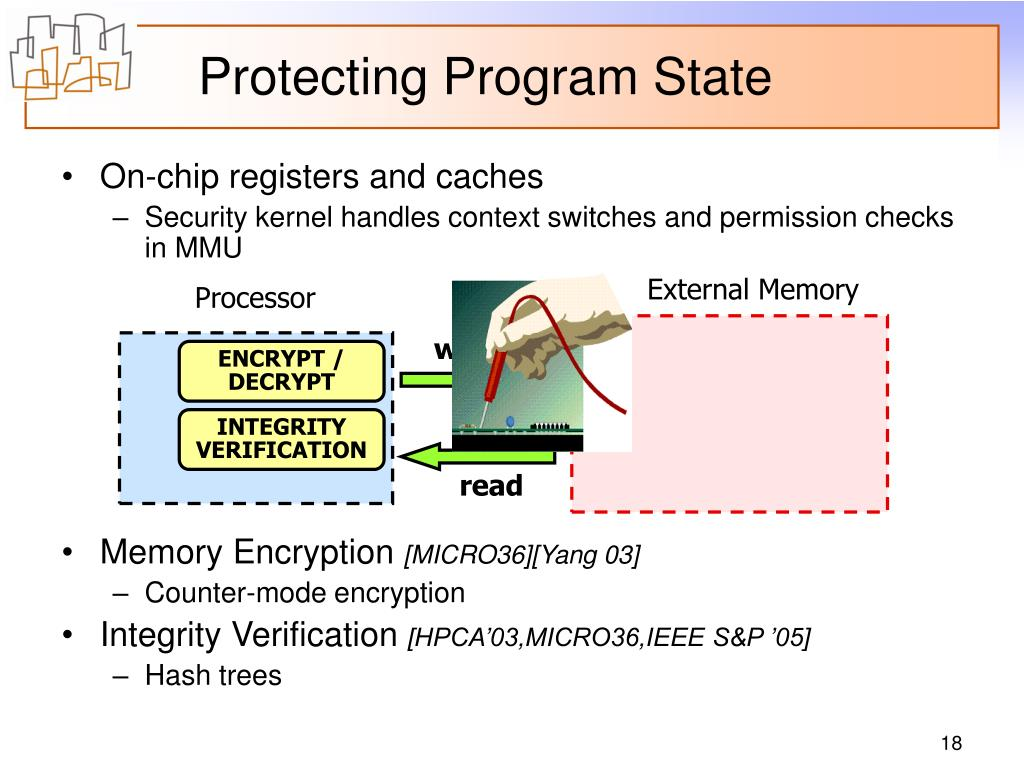 Protecting Program State