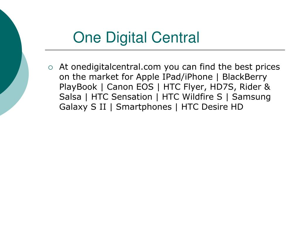 One Digital Central