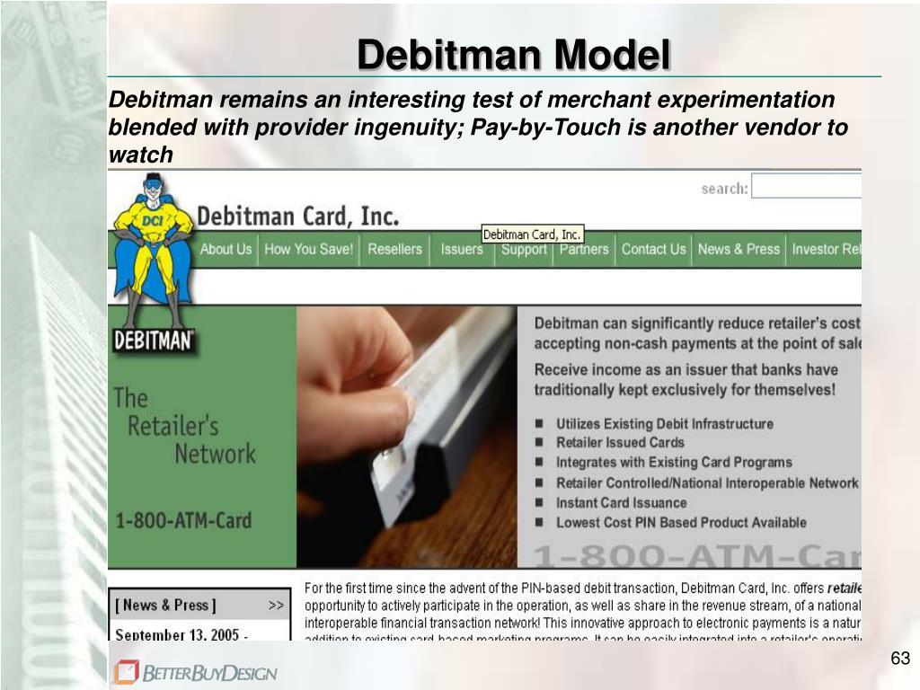 Debitman Model