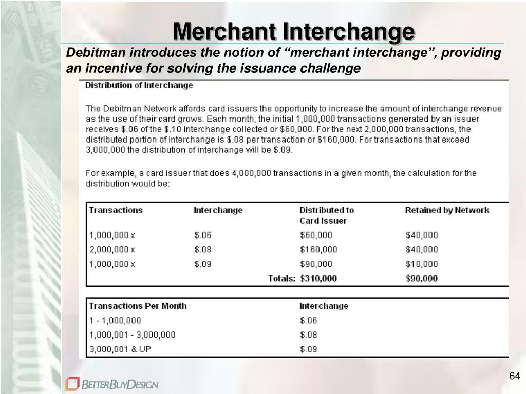 Merchant Interchange