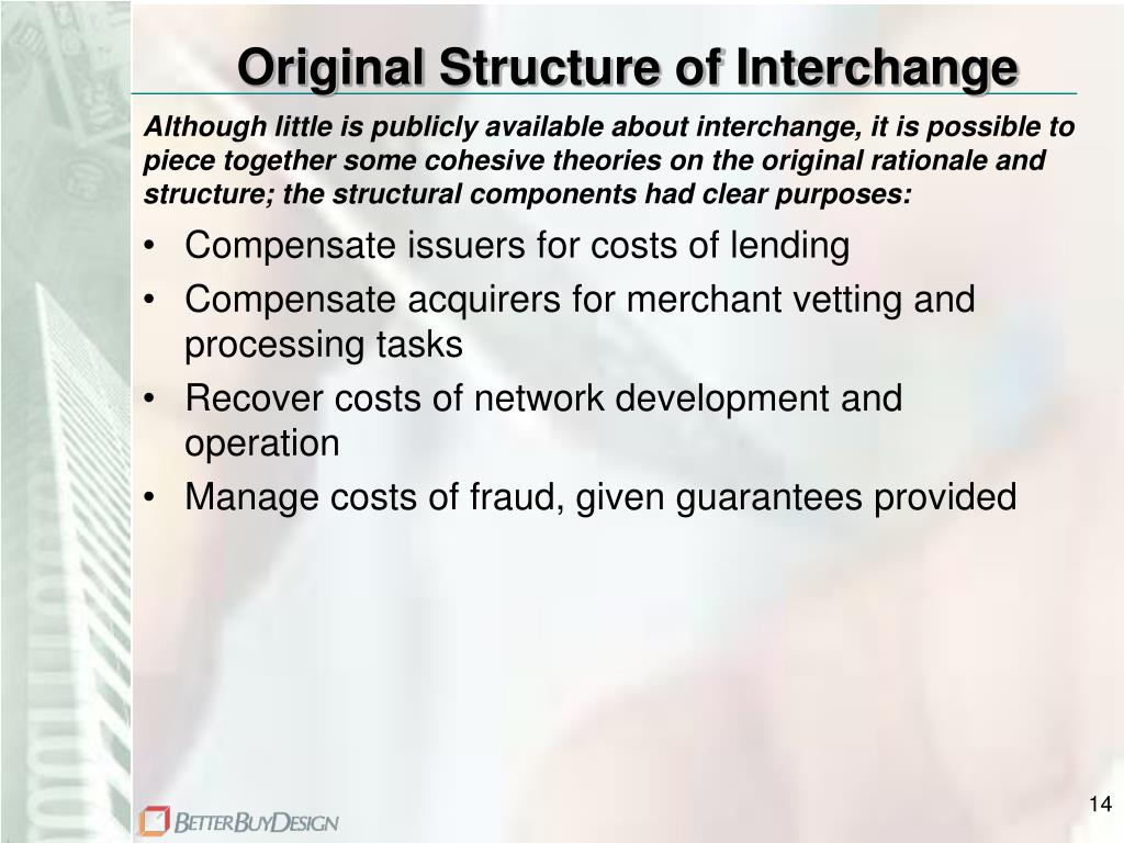 Original Structure of Interchange