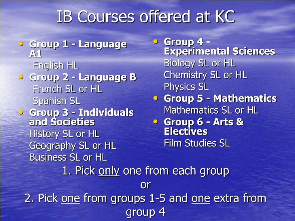 Group 1 - Language A1