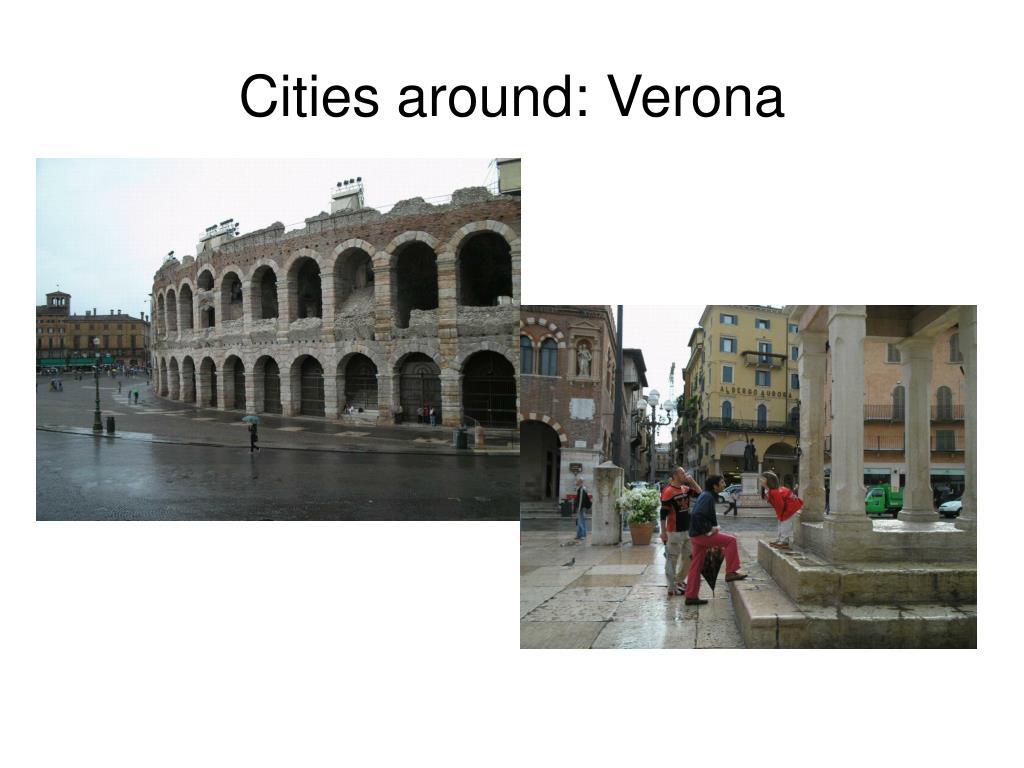 Cities around: Verona