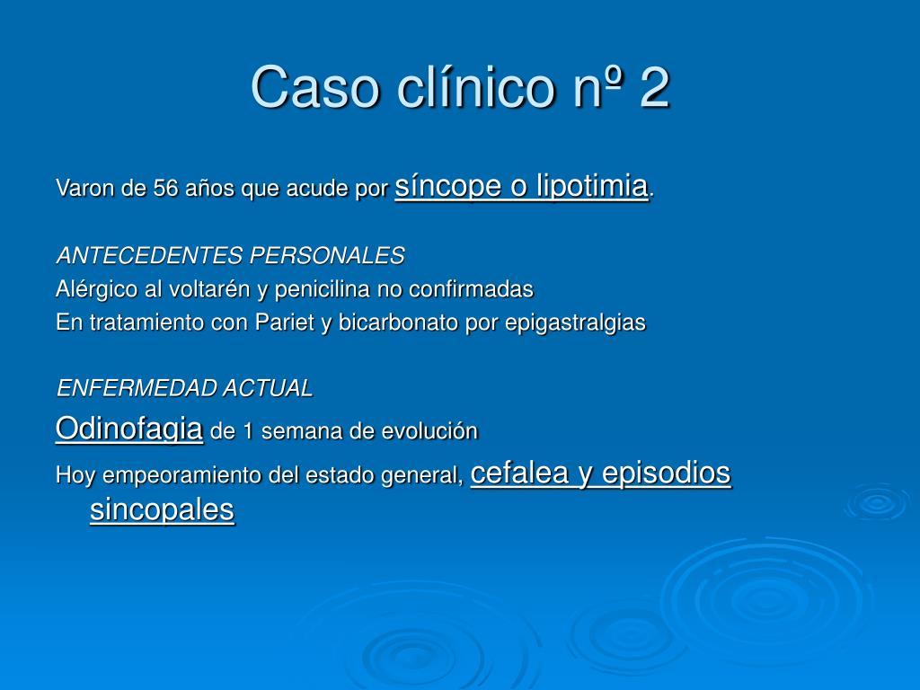 Caso clínico nº 2