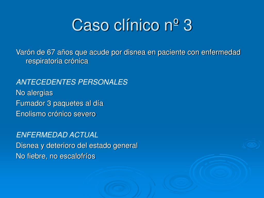 Caso clínico nº 3