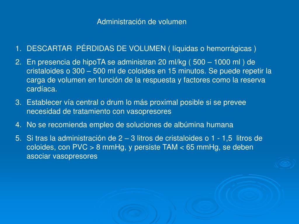 Administración de volumen