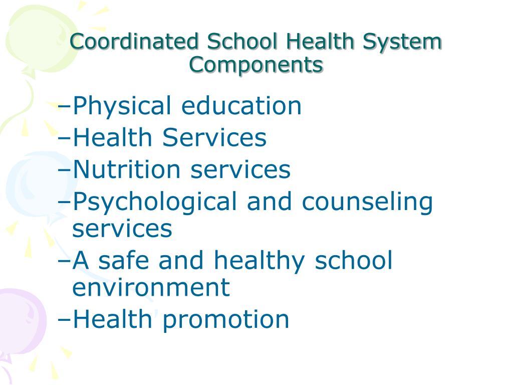 Coordinated School Health System