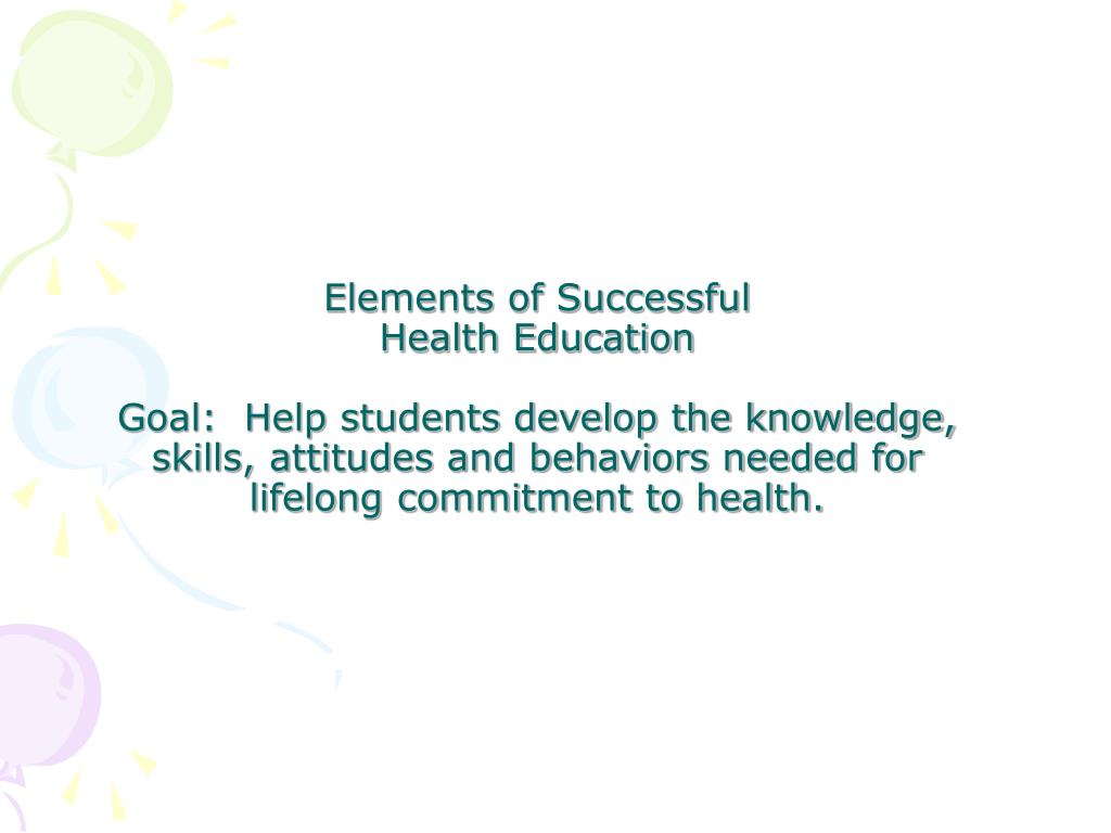 Elements of Successful
