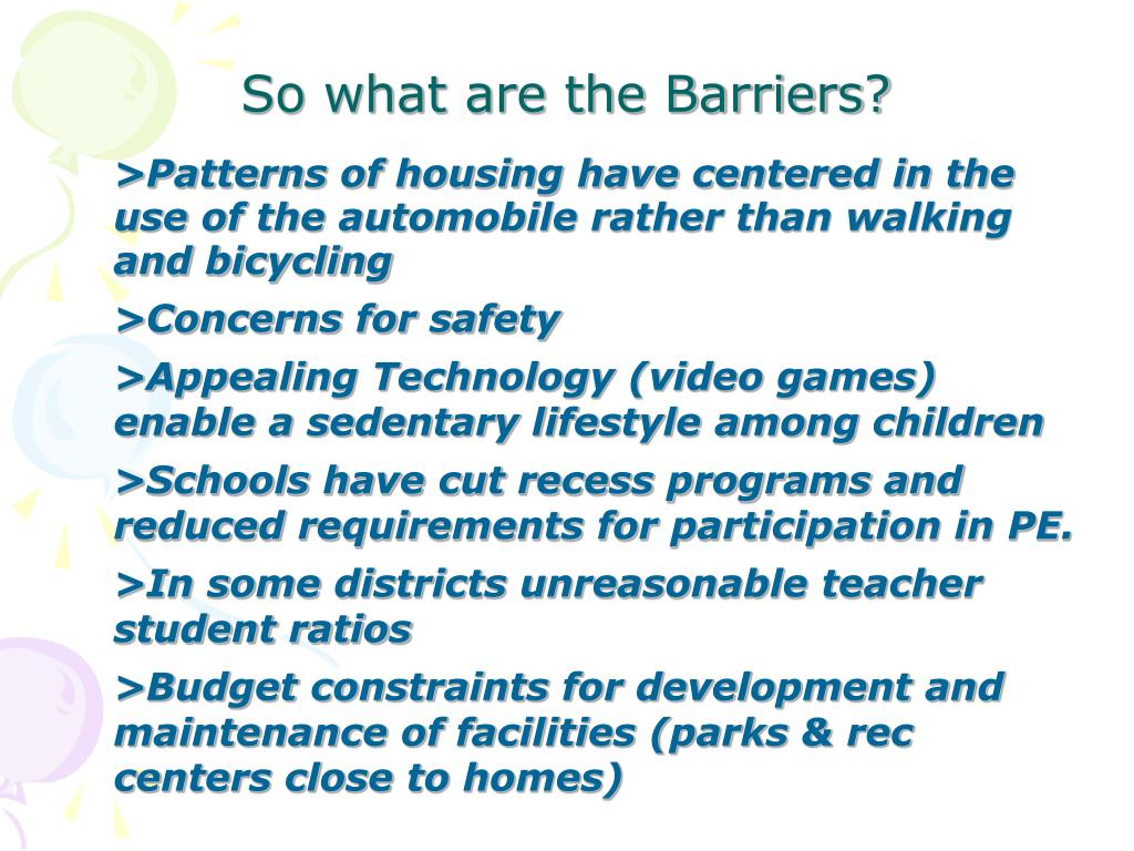>Patterns of housing have centered in the use of the automobile rather than walking and bicycling