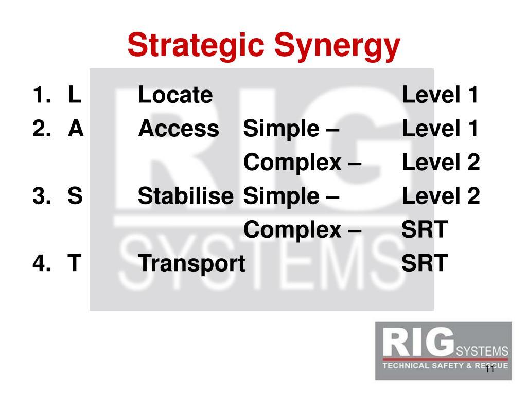 Strategic Synergy