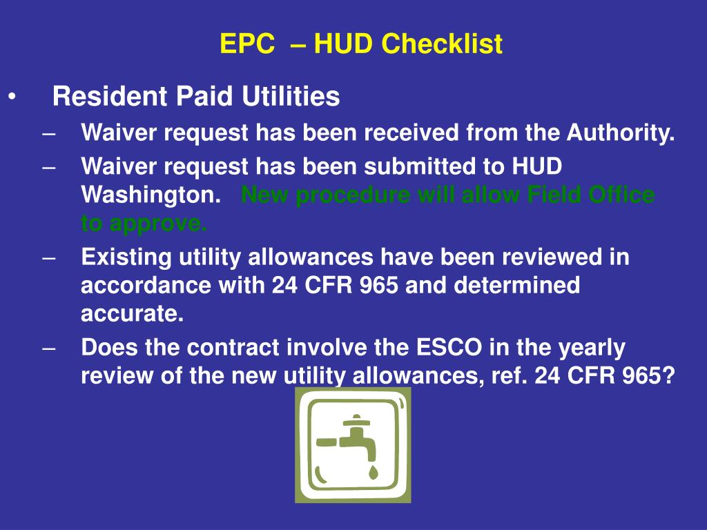 Resident Paid Utilities