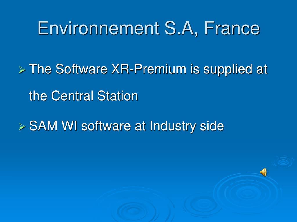 Environnement S.A, France