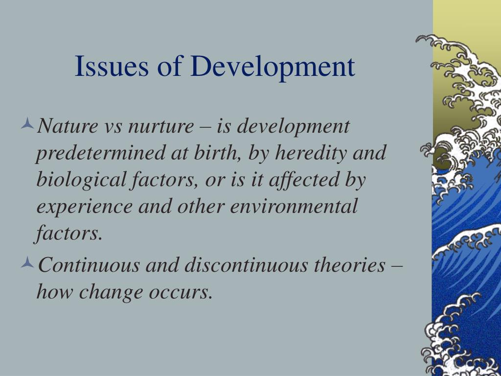 Issues of Development
