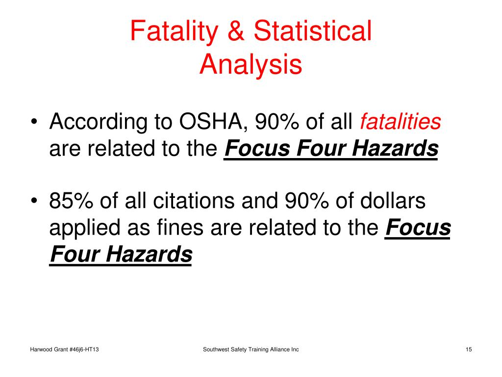 Fatality & Statistical