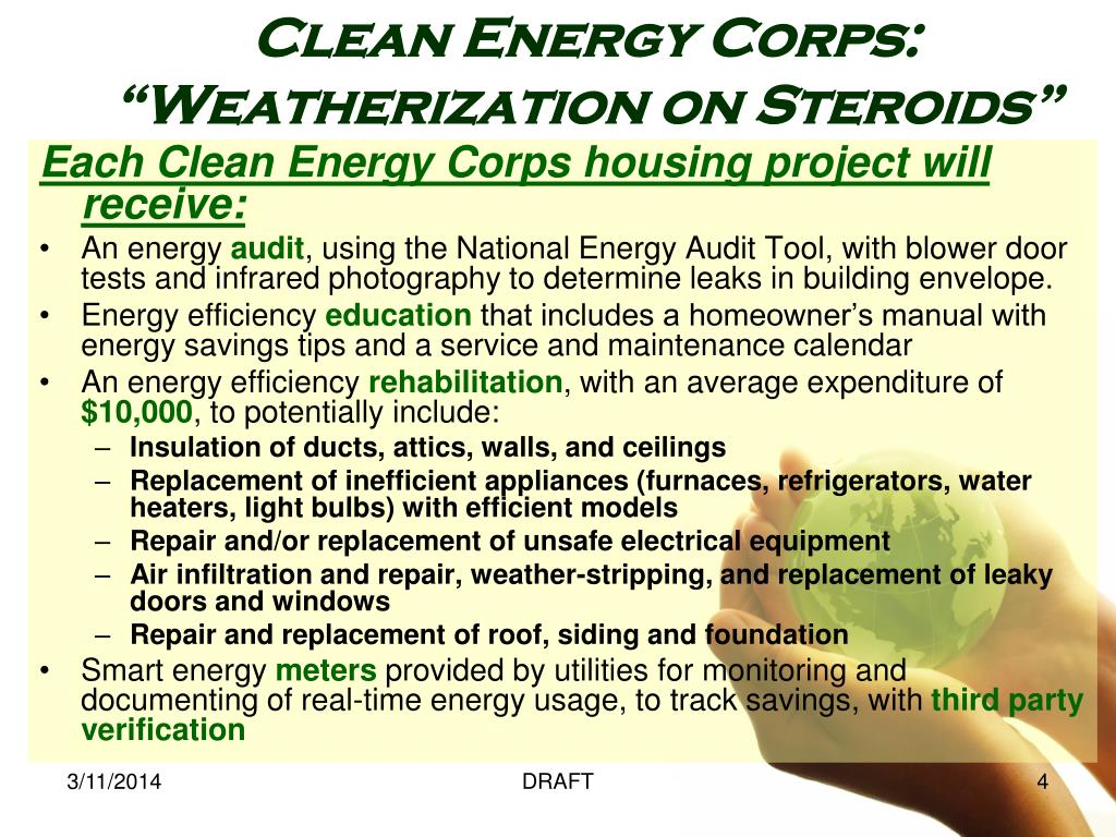 Clean Energy Corps: