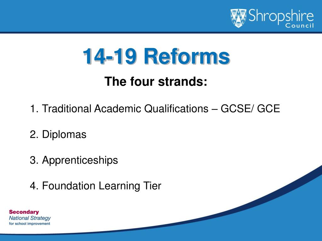 14-19 Reforms