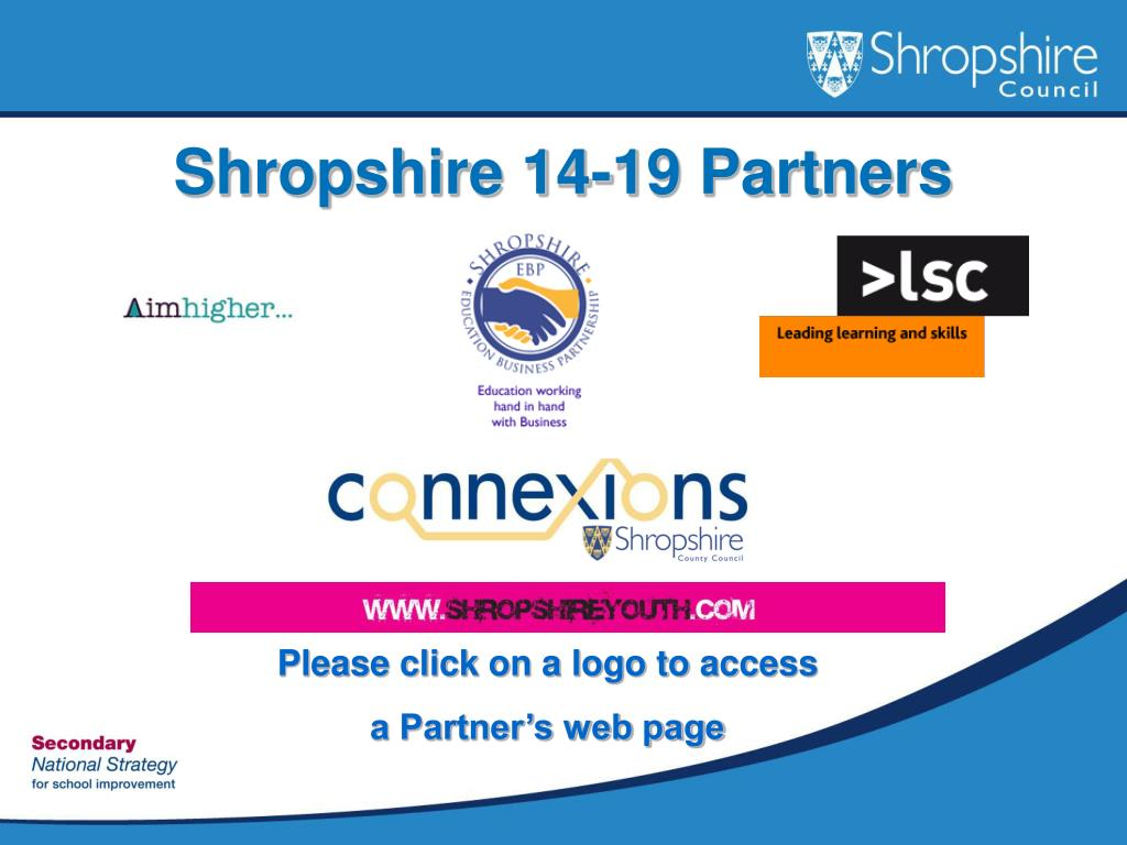 Shropshire 14-19 Partners