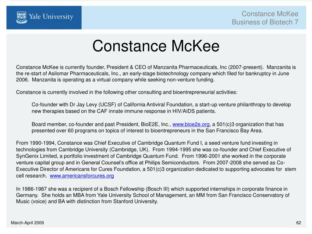 Constance McKee