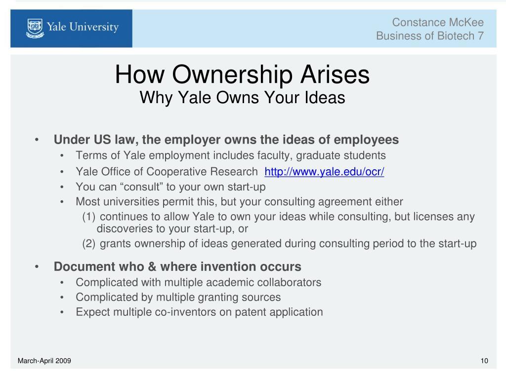 How Ownership Arises