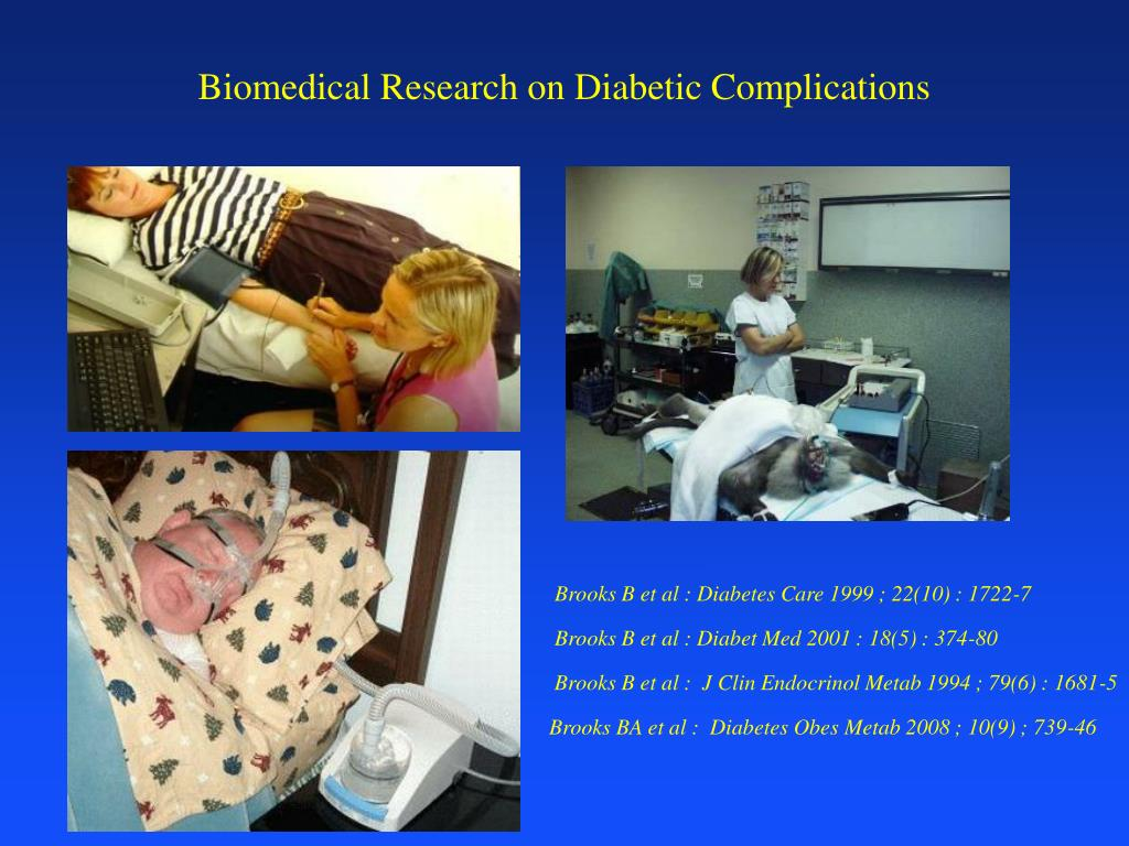 Biomedical Research on Diabetic Complications