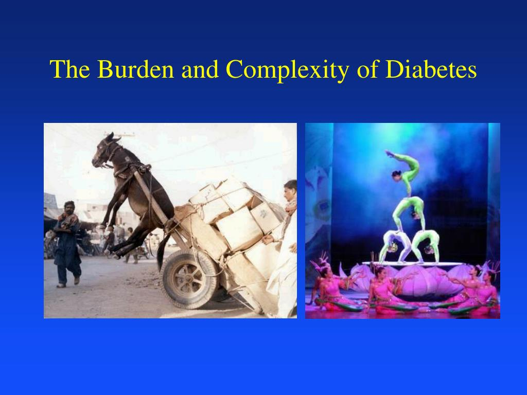 The Burden and Complexity of Diabetes