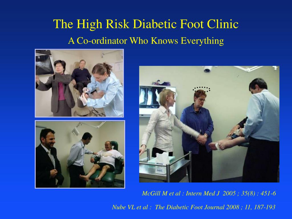 The High Risk Diabetic Foot Clinic