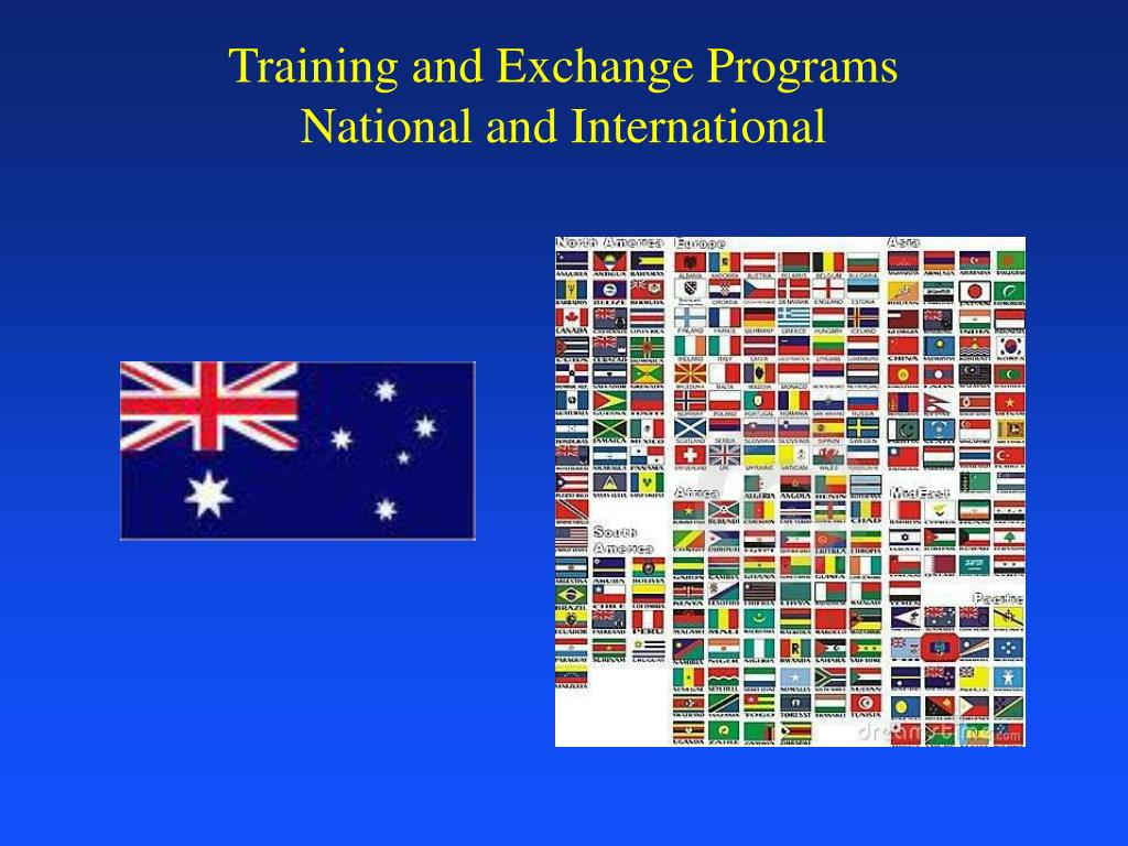 Training and Exchange Programs
