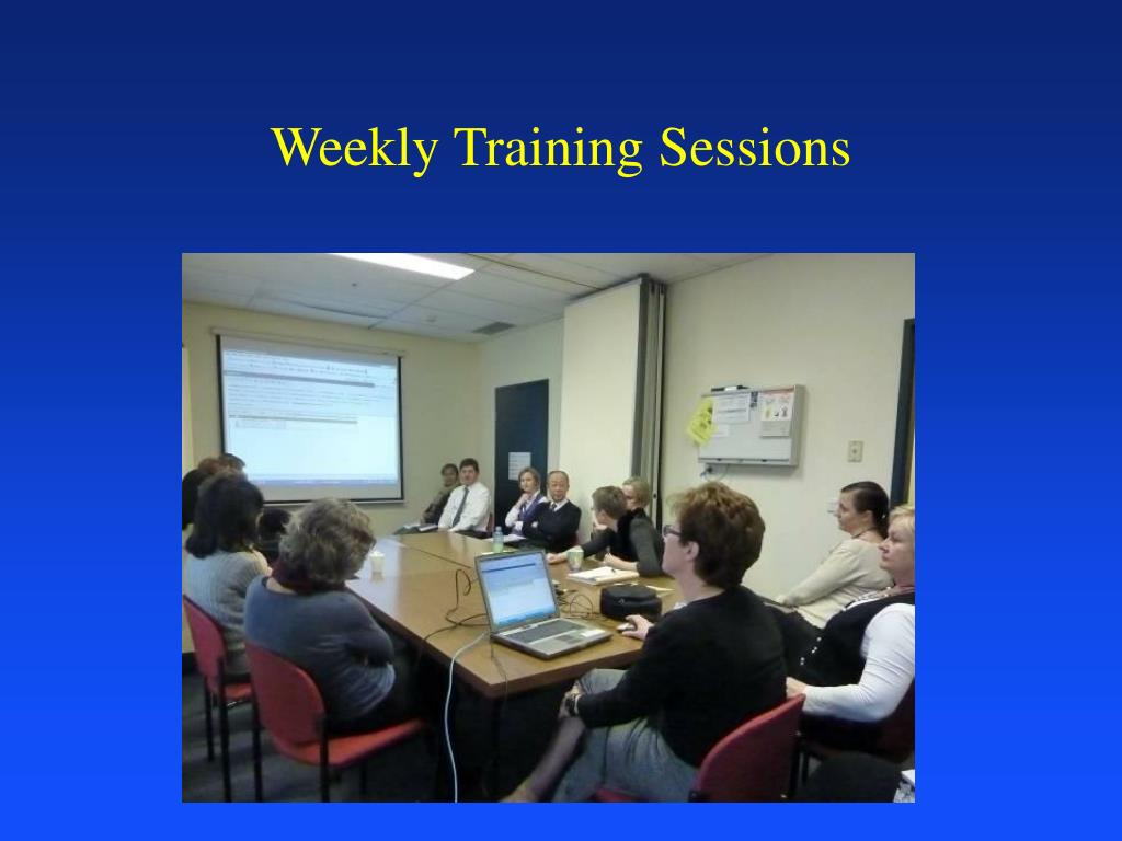 Weekly Training Sessions