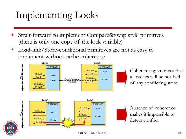 Implementing Locks