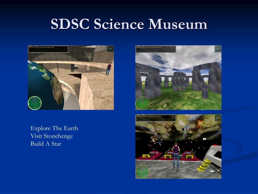 SDSC Science Museum