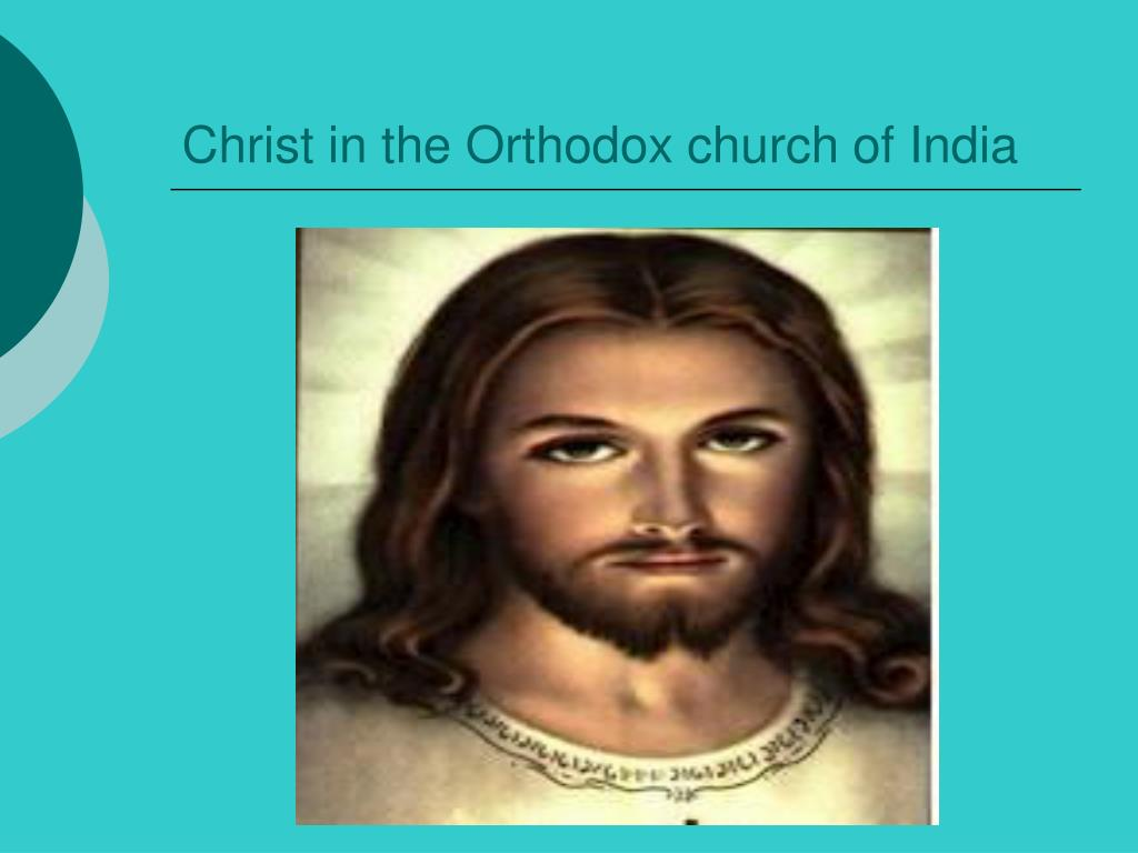 Christ in the Orthodox church of India
