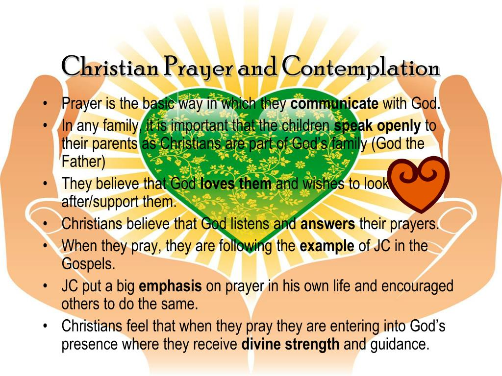 Christian Prayer and Contemplation
