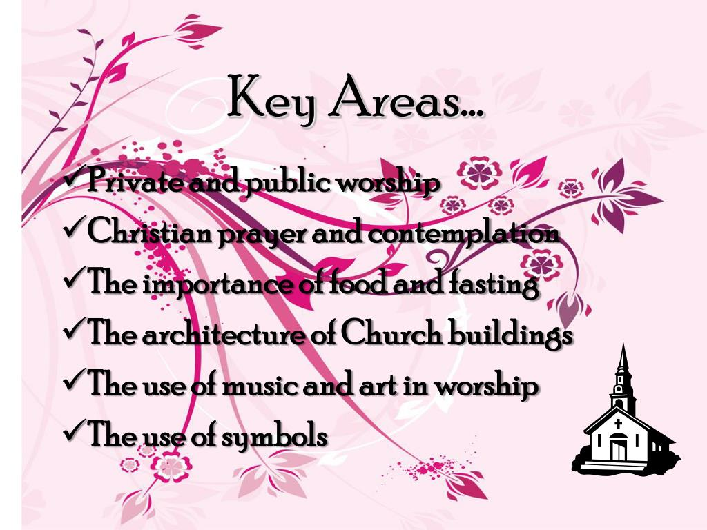 Key Areas…