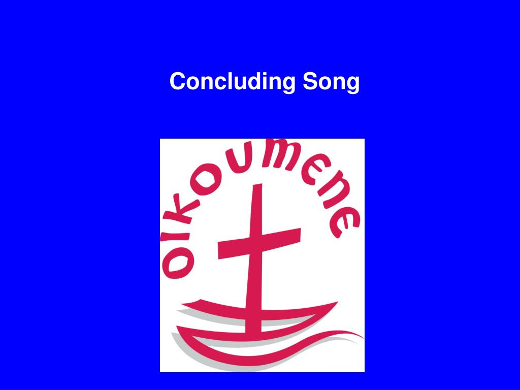 Concluding Song