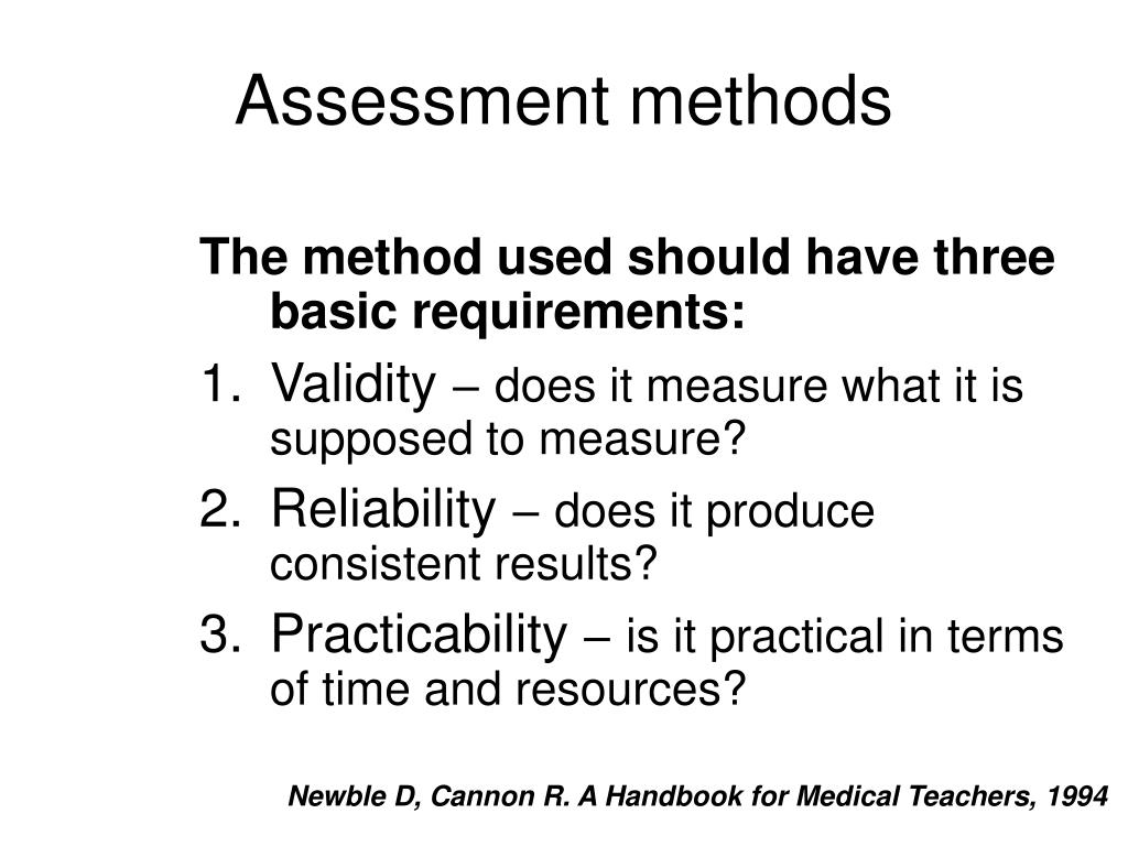 assessment methods Learn more about alternative methods of assessment that can engage students, improve their learning and reduce marking workload.