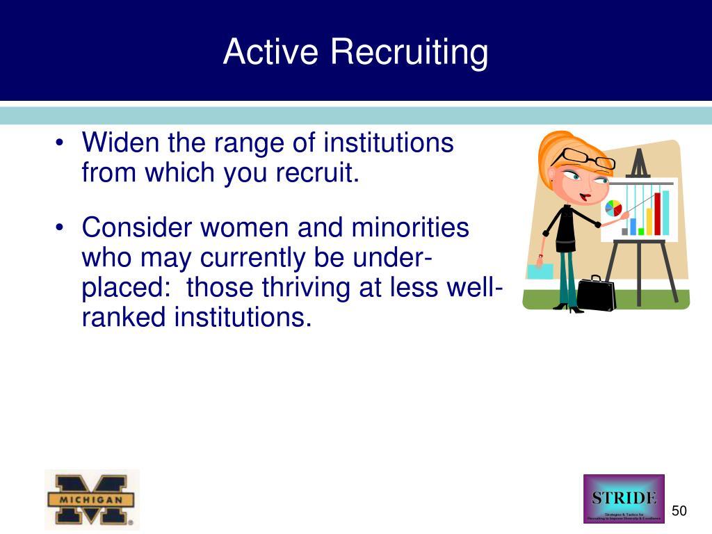 Active Recruiting
