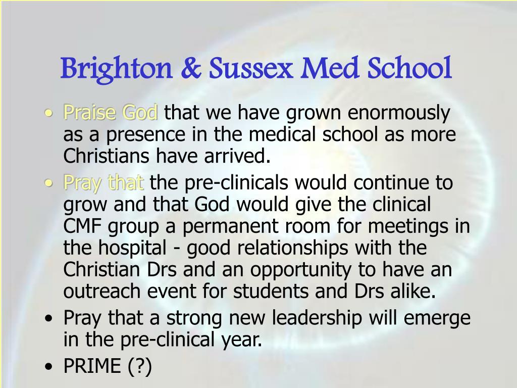 Brighton & Sussex Med School