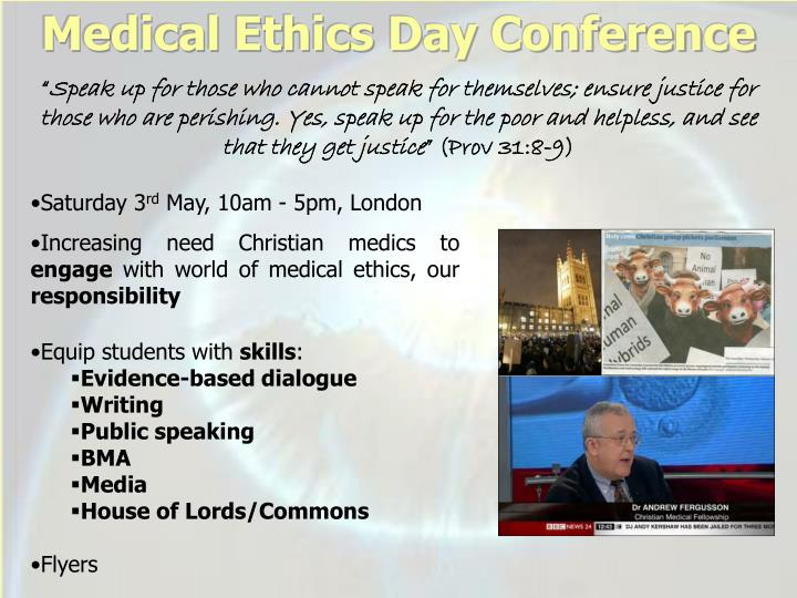 Medical Ethics Day Conference