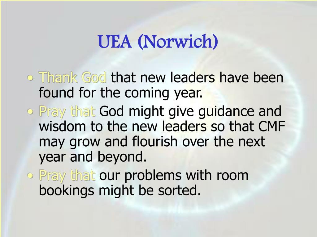 UEA (Norwich)