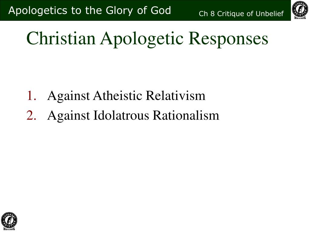 Christian Apologetic Responses