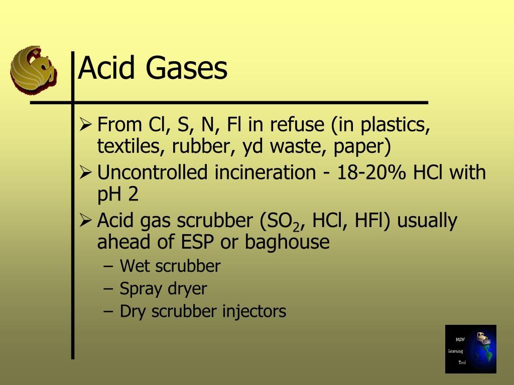 Acid Gases