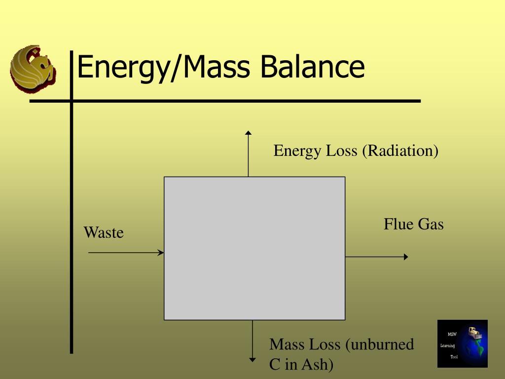 Energy/Mass Balance