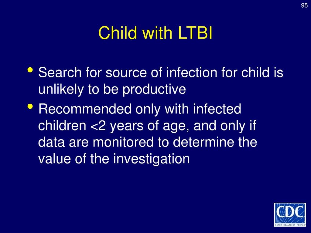 Child with LTBI