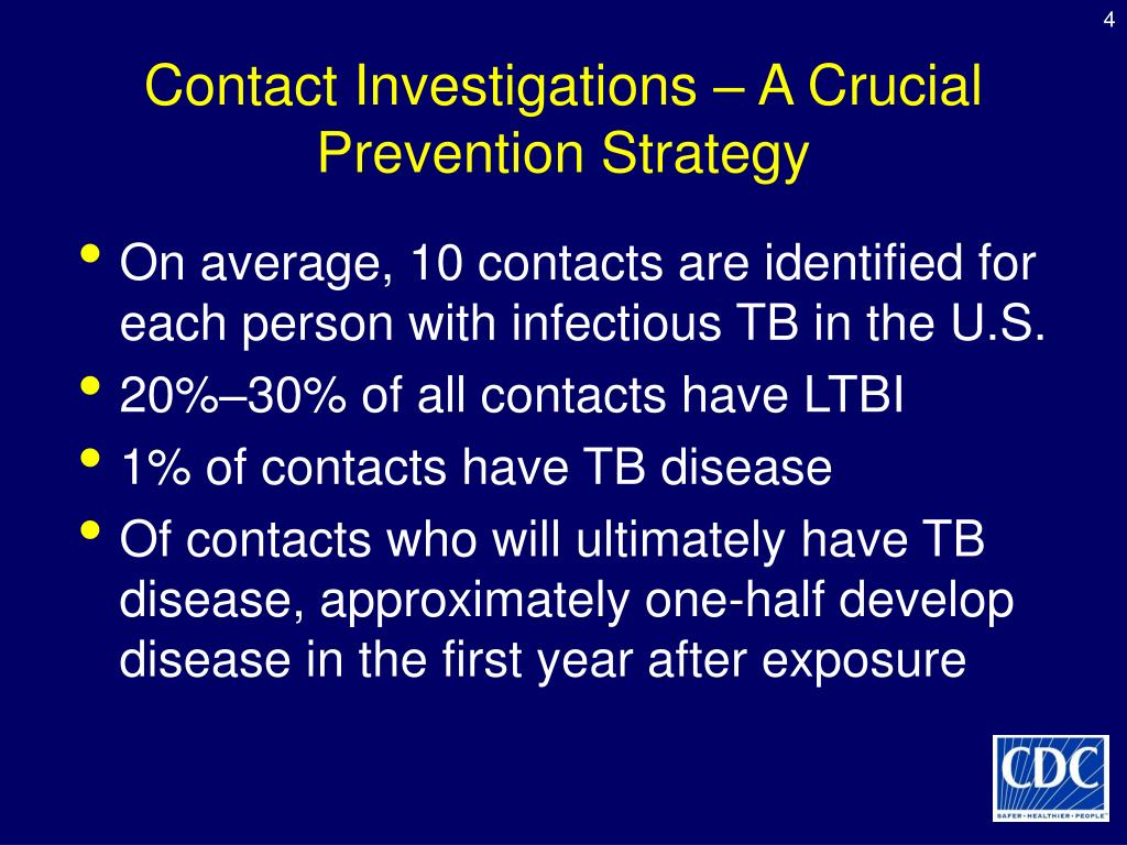 Contact Investigations – A Crucial Prevention Strategy
