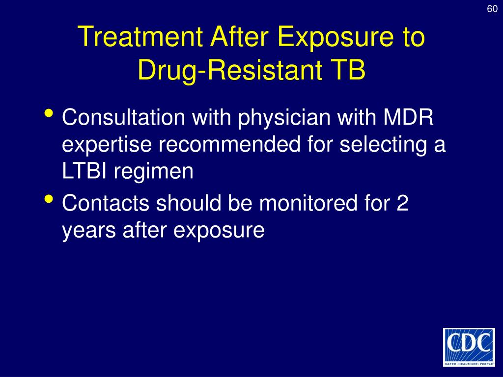 Treatment After Exposure to