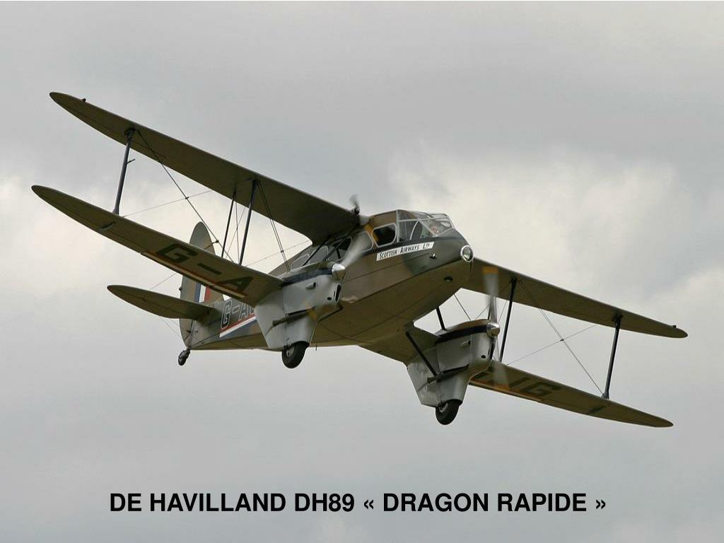 DE HAVILLAND DH89 «DRAGON RAPIDE»
