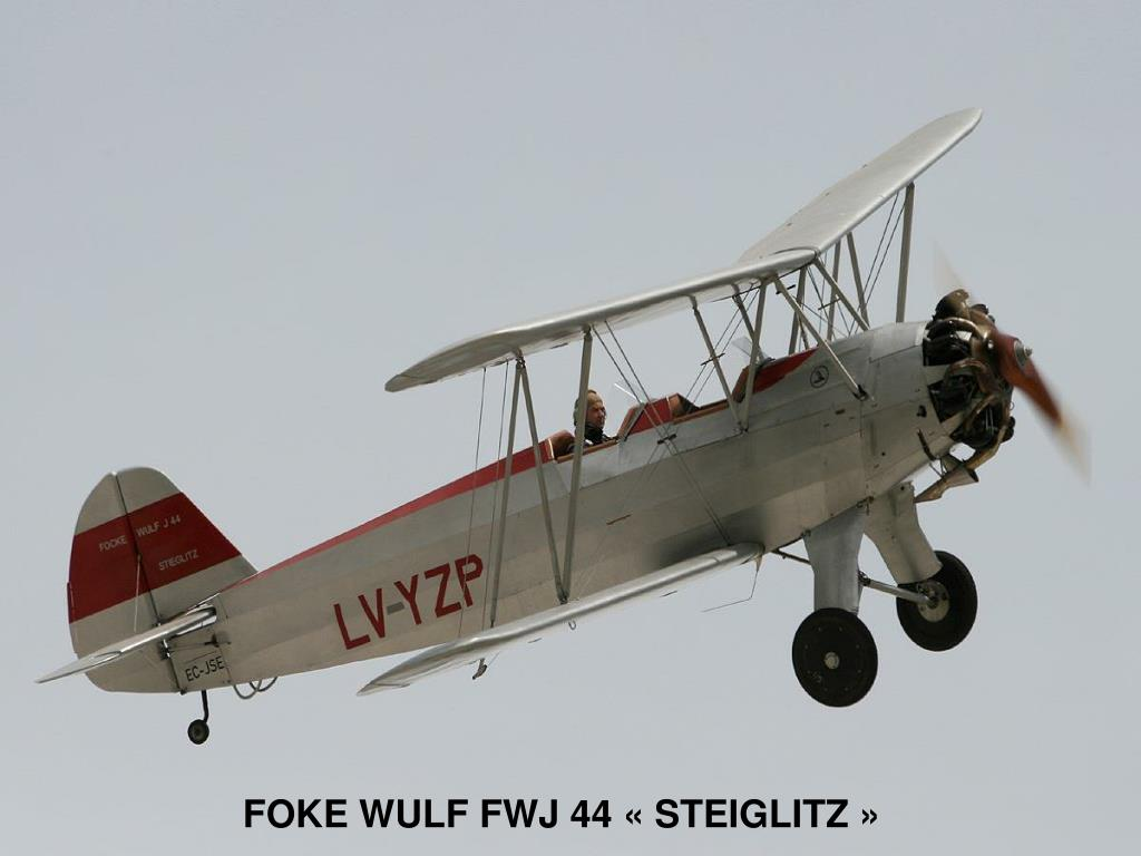 FOKE WULF FWJ 44 «STEIGLITZ»